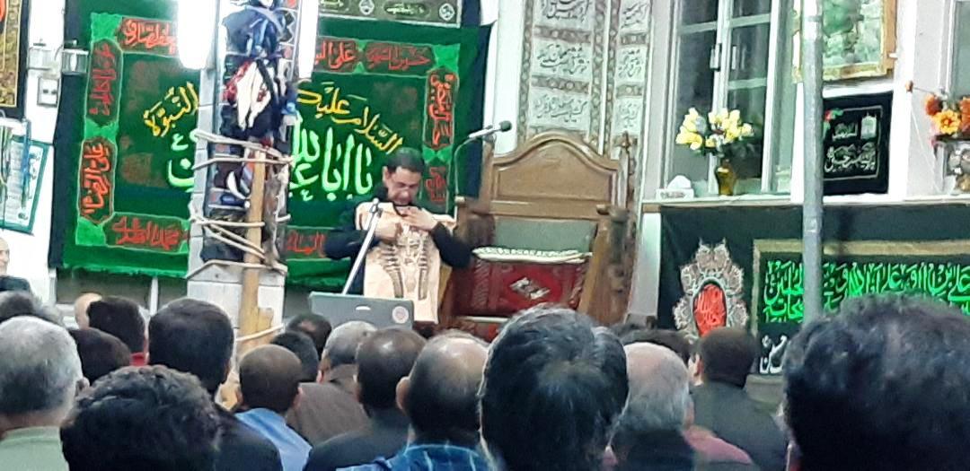 📝 اقدام جالب و مبتکرانه نیروی انتظامی شاهرود در ایام محرم + عکس