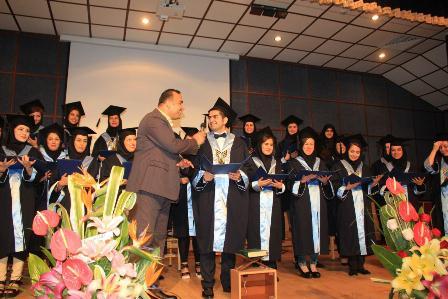 جشن فارغالتحصیلی دانشجویان رشته پزشکی دانشگاه آزاد اسلامی شاهرود/ یک پسر و 27 دختر + تصاویر