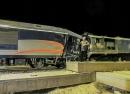 حادثه مرگبار برخورد دو قطار در بین سمنان دامغان