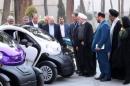 دکتر موسیخانی خبر داد آغاز عملیات ساخت 100 خودرو برقی دوسرنشین «یوز» در دانشگاه آزاد اسلامی