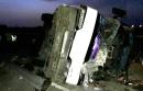 🔴 3 کشته و 28 مصدوم در واژگونی اتوبوس تایباد - تهران در شاهرود