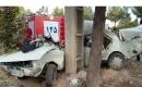 🔴 برخورد  شدید پیکان با درخت در شاهرود جان راننده را گرفت