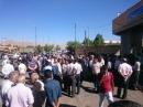 گزارش تصویری از تجمع اعتراضی عده ای از مردم سمنان در مقابل استانداری و طومار نویسی !!