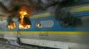 عکس هایی دیده نشده از حادثه دو قطار مسافربری در استان سمنان