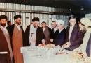 عکس: رهبر معظم انقلاب، آیت الله هاشمی و نماینده فقید شاهرود در یک قاب