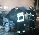 برخورد شدید خودروی سواری با تیر چراغ برق+عکس