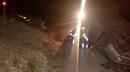 دو مصدوم نتیجه بی احتیاطی راننده در جاده مجن شاهرود+عکس