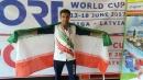 افتخارآفرینی دانشجوی دانشگاه آزاد اسلامی شاهرود در مسابقات ورزشی کارگران جهان